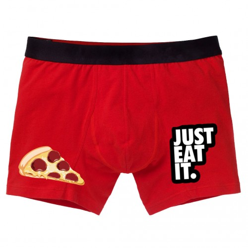 Just Eat İt Yazılı Pizza