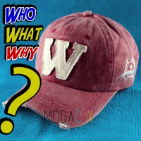 W Şapka Bordo (who what why ?)