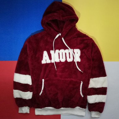 Bordo Bayan Sweatshirt