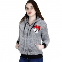 Minnie Mouse Peluş Sweatshirt