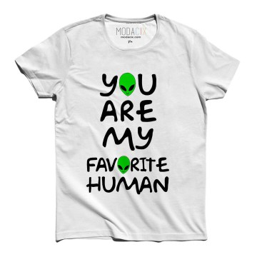 You Are My Favorite Human Alien