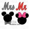 Mr. Mickey Ms. Minnie